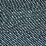 raya teñida Jersey del alimentador de los hilados de polyester del algodón 153GSM