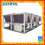 Ar/refrigerador de refrigeração água do compressor do parafuso para a indústria química