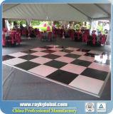 Портативный тип винта танцевальной площадки фиксируя пол легкий устанавливает танцевальную площадку для случаев