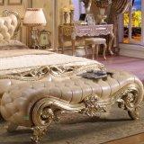 Het de houten Bank van het Bed en Kabinet van de Kruk voor het Meubilair van de Slaapkamer
