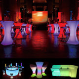Bar Set Multi-Color Changing LED Bar Tabelas Bar Cadeiras