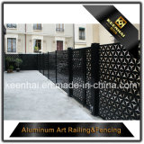 El panel de aluminio de la cerca del jardín del metal del corte del laser para la decoración