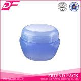 Vasi cosmetici della crema di fronte del contenitore del vaso cosmetico di plastica