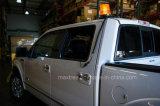 フォークリフトの安全警告働くライト10-110V LEDトラックの合図の光