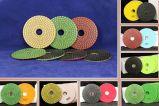 6000AA 모래 갯솜 닦는 바퀴 패드 (회색 백색)