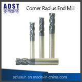 ferramenta de estaca do moinho de extremidade do raio de 4flute Cornor para a máquina do CNC