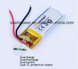 Bateria recarregável do Li-íon do polímero da recolocação 3.7V 80mAh Li para auriculares de Bluetooth da tempestade 3 de Jabra