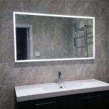 Abitudine noi specchio Backlit illuminato LED di Frameless della stanza da bagno dell'hotel