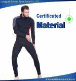 La subsistance de contrôle de qualité chauffent des vêtements de bain du néoprène de 3mm pour les hommes