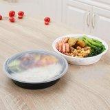 Контейнеры приготовление уроков еды с тарой для хранения еды Microwaveable крышек BPA-Свободно круглой пластичной