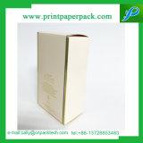Rectángulo de empaquetado cosmético plegable de Purfume que graba