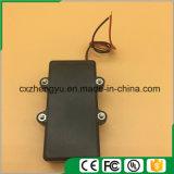 2AA impermeabilizan el sostenedor de batería con los terminales de componente, la cubierta y el interruptor rojos/negros de alambre