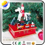 Di Music Box su ordinazione rossi fragili del carosello, di Music Box all'ingrosso di Gallopers dei bambini,