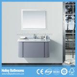 Module de salle de bains fixé au mur de vente chaud moderne de forces de défense principale avec 1 tiroir (BF375D)