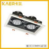 12wx2 projecteurs de gril de l'ÉPI DEL pour l'éclairage de dessin-modèle