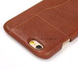 La cassa del telefono del cuoio del coperchio posteriore della fessura per carta/il caso/Samsung di iPhone telefonano il caso
