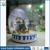 Шарик украшения рождества PVC раздувной кристаллический для рекламировать