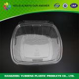 Ясный устранимый пластмасовый контейнер с крышкой, контейнер упаковки плодоовощ