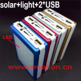 крен силы батареи сотового телефона 10000mAh 20000mAh солнечный порученный передвижной