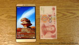 """Androide rápido 6.0 de la base de Octa del teléfono celular de la nota 8 4G Lte del honor de Huawei de la salida de DHL 6.6 """" oro elegante del teléfono de la huella digital de la ROM del RAM 128GB de 2k 2560X1440 4GB"""