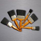 """"""" a pintura 3 superior utiliza ferramentas a escova de pintura com cerdas naturais e o punho de madeira"""