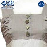Alineada atractiva de Ldies de la manera del botón sin mangas multicolor de la Slimmering-Cintura