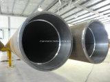 Tubo de acero alineado de gran diámetro con el trazador de líneas 316L