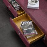 Кровать софы неподдельной кожи типа Кореи самомоднейшая для живущий мебели комнаты - Fb8036b