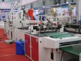 Automatischer Hochgeschwindigkeitsplastik innerhalb des Kleber-Änderung- am Objektprogrammgriff-Beutels, der Maschine herstellt