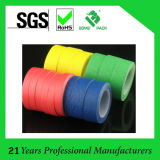 cinta adhesiva del amarillo 145mic