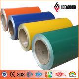 Material de construcción de aluminio cubierto color de la bobina de Ideabond (AE-108)