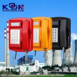 Telefono impermeabile di Phoneanti-Terrosist di zona resistente, telefono impermeabile IP66, Knsp-18 del telefono di Rubost