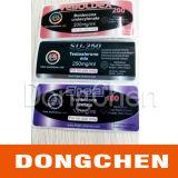 Etiquetas britânicas do tubo de ensaio do dragão da venda quente