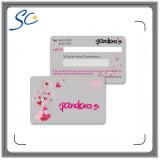 Printable карточка подарка PVC размера кредита