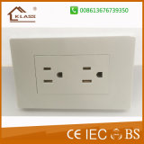 Made in Prc 3 Pin Wall Sockets, tomadas USB elétricas