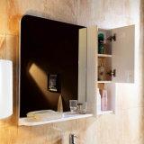 Mobilia europea del Governo di stanza da bagno di legno solido con lo specchio