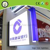 Vide formant le cadre Lightbox matériel acrylique d'éclairage LED