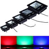 Reflector delgado ultrafino al aire libre 100W del RGB AC85-265V de la iluminación