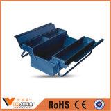 Caja de herramientas de múltiples funciones del metal del doblez