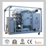 Purification à deux étages d'épurateur de pétrole de transformateur de système du vide Zja-100/pétrole
