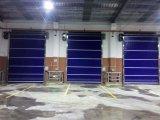 Rapides en plastique enroulent la porte d'obturateur de rouleau de garage de porte