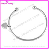 Armband mit Heart Charm Urn Jewelry Edelstahl