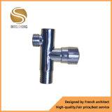 Válvula de ângulo de bronze do tamanho da linha com Polished