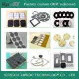 Couleurs d'usine différentes et pièces moulées par coutume en caoutchouc de silicones de tailles