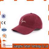 Sombrero del casquillo de los deportes del béisbol del panel del bordado 6 del algodón 3D