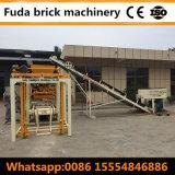 Preço oco simples dos blocos de cimento do cimento da máquina Qt4-24b da fabricação