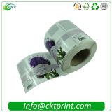 Il rullo su ordinazione ha stampato il contrassegno lucido autoadesivo degli autoadesivi (CKT-LA-416)