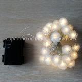 Indicatori luminosi esterni impermeabili della puntura della sfera rotonda della finestra della decorazione LED dell'albero di Natale