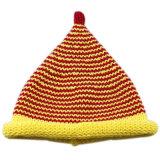15028 100% Wolle-hoher Spitzenbaby-Hut