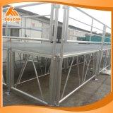 Fase piegante di alluminio allungabile e registrabile di livello 410-610mm/610-810mm